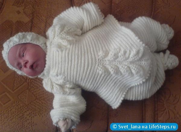 Вязание спицами для новорожденных на ютубе 872
