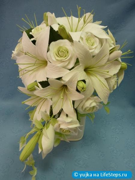 Научиться лепить цветы из полимерной